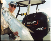 Tarpon with a client