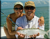 fly fishing for bonefish on the flats
