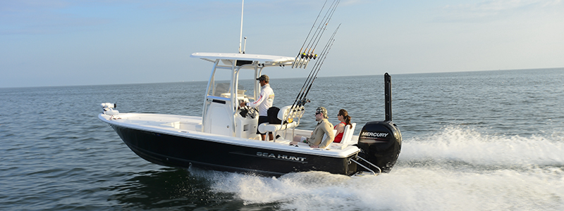 Sea Hunt BX 22 BR / Mercury 150 Fourstroke