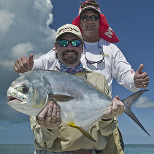 Permit fishing with Wade Boggs out of Key West in the Marquesas Keys