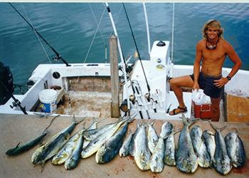 Key West fishing guide dolphin fishing