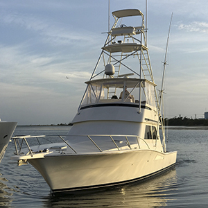 "The ""In XS"" 47Ft Viking deep sea fishing boat"