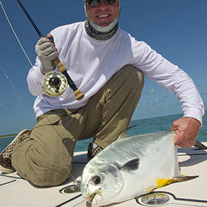 flats fishing for permit on fly