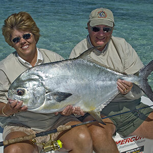 flats fishing for monster permit