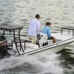 Beavertail Elite flats fishing boat