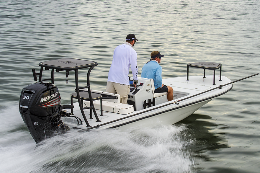 Beavertail Elite flats fishing boat