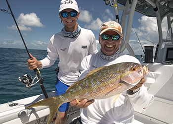 yellowtail snapper fishing October